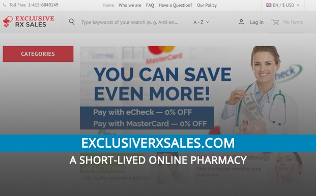 Exclusiverxsales.com Review – A Short-Lived Online Pharmacy