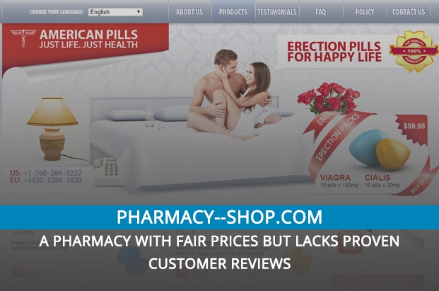 Pharmacy–shop.com Review – A Pharmacy with Fair Prices but Lacks Proven Customer Reviews