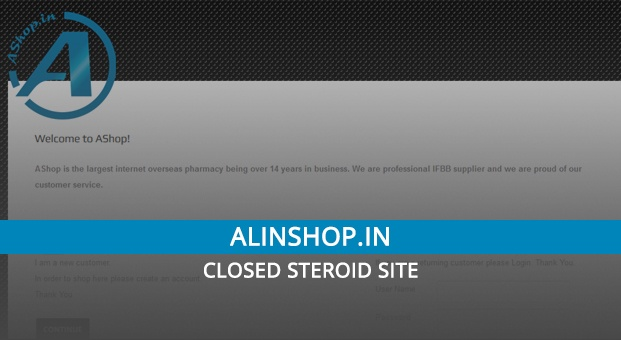 Alinshop.in Review – Closed Steroid Site