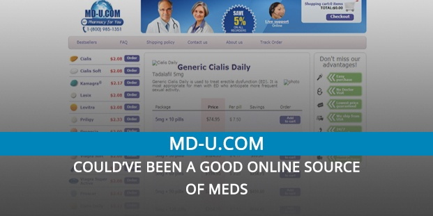 Md-u.com Review – Could've Been a Good Online Source of Meds