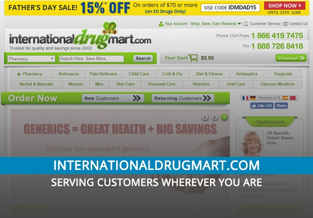 Internationaldrugmart.com Review: Serving Customers Wherever You Are
