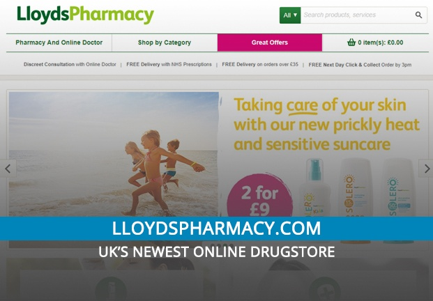 Lloydspharmacy.com Review: UK's Newest Online Drugstore